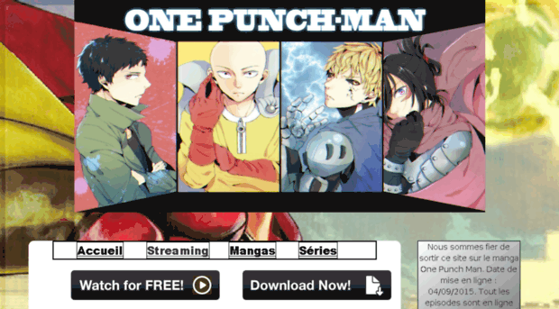 one punch man streaming fr domraider decentralized bloc one