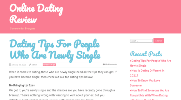 Dating online review