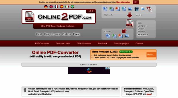 merge two pdf online