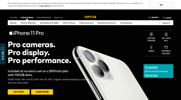 Optus business internet plans