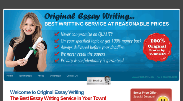 original writing essays
