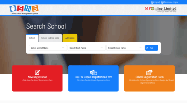 osms mponline gov in - Online School Mangement System - Osms