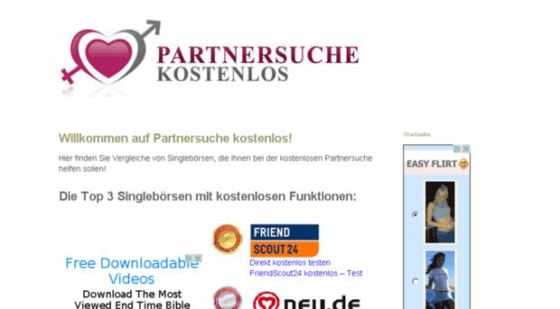 Partnersuche ohne anmeldung und registrierung