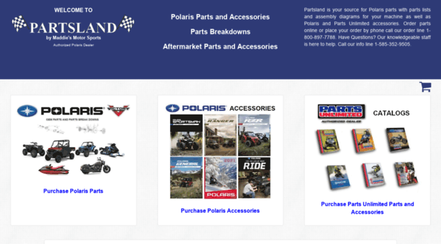 partsland com - Polaris • Snowmobile • Watercr    - Parts Land