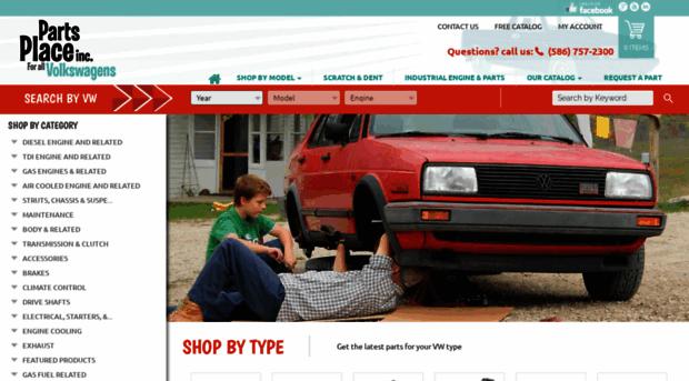 partsplaceinc com VW Parts, VW Diesel Parts, VW TDI Parts