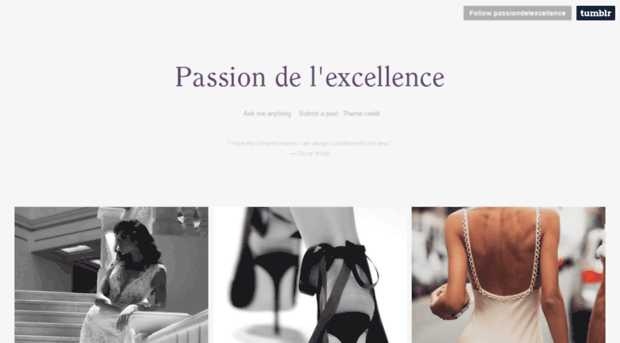 passion to excellence essay Free essay: my passion lies with dance dancing has been a huge learning experience for me and the influence it has had on my life i strive for excellence.