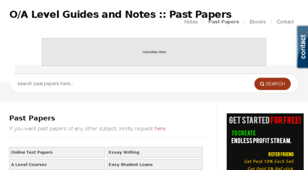 pastpapers o-alevel com - O Level Past Papers | A Level