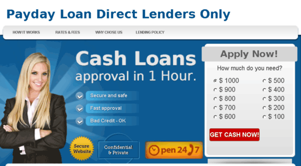 Mobile payday loans direct lender