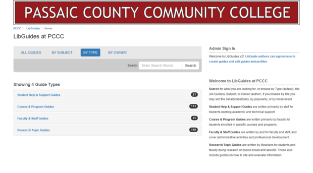 pccc.libguides.com - Home - LibGuides at Passaic Co... - Pccc Lib ...
