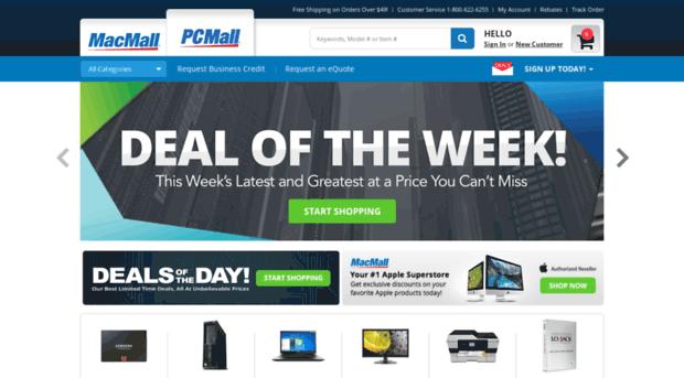 pcmall case study