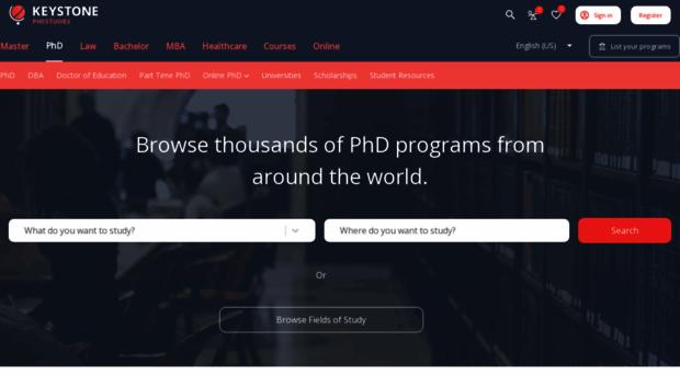 Best phd degrees