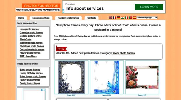 photofuneditor.com - New Photo Frames every Day! Ph... - Photo Fun ...