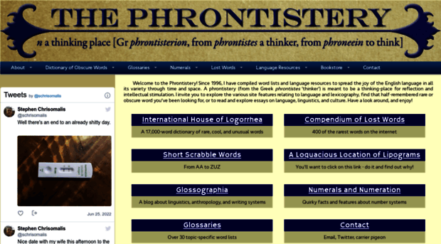Phrontisteryfo the phrontistery obscure word phrontistery the phrontistery obscure words and vocabulary resources publicscrutiny Gallery