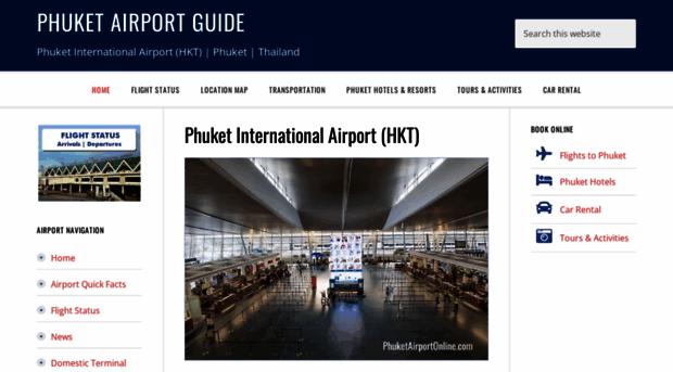 phuket airport departure