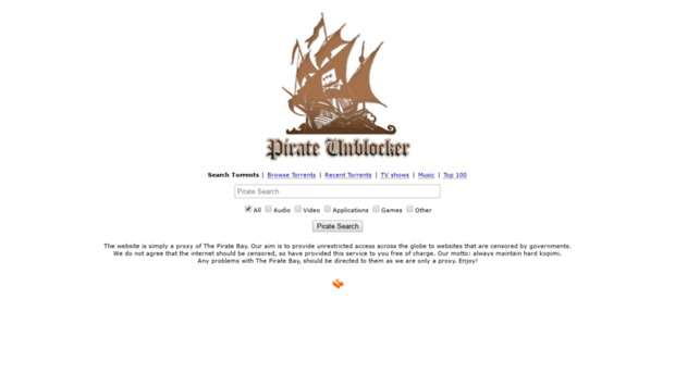 pirateunblocker me - Download music, movies, games, software and