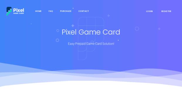 pixelgamecard com - Pixel Game Card© - Easy Prepaid Game Card Solution!
