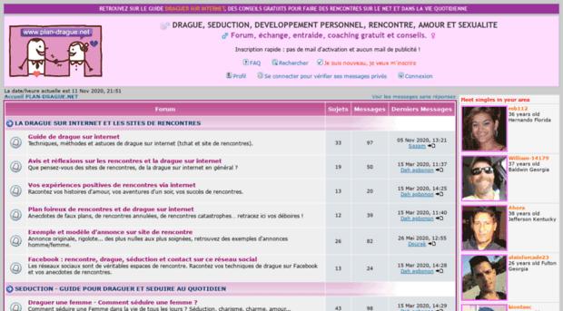 forum sur sites de rencontres