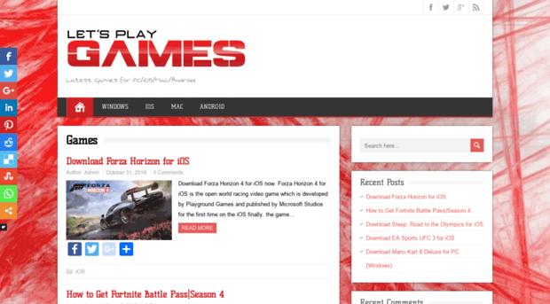 playgames4u com PLAYGAMES4U COM - Latest Games for PC/iOS