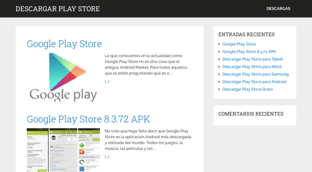 playstoredescargar org - Descargar Play Store - Descarg