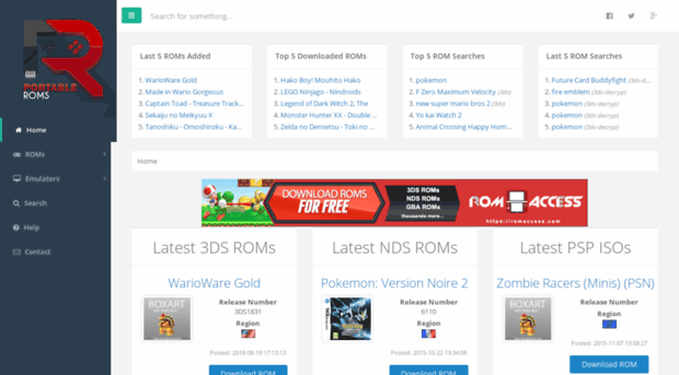3ds roms download sites