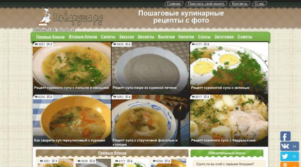 Кулинарные сайты с пошаговыми
