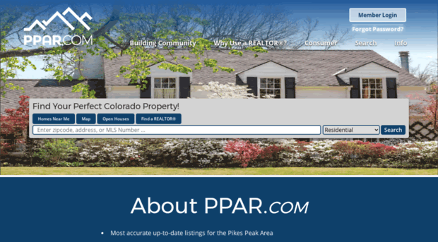 ppmls mlsmatrix com - Pikes Peak Association of Realtors