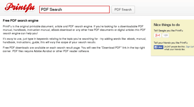 Searching PDFs, Adobe Acrobat