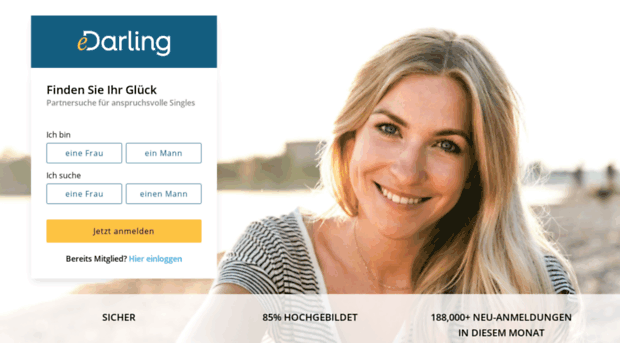 Partnersuche - Inserat aufgeben bei darling40plusch