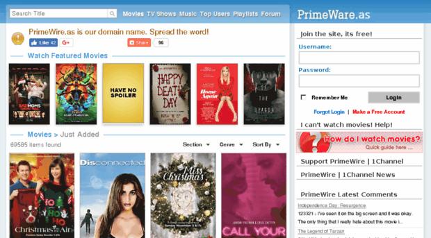primewire.to - PrimeWire | LetMeWatchThis | 1... - Prime Wire