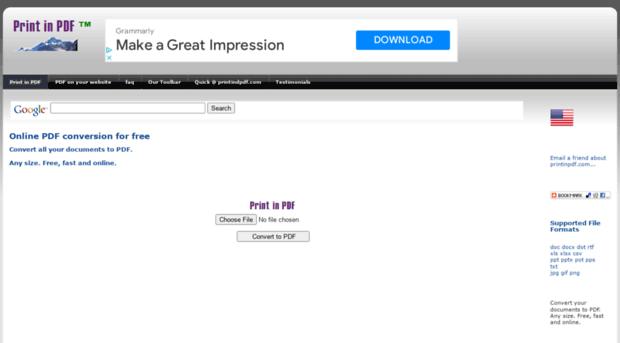 free print to pdf converter