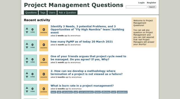 questions about a project management software Project management software can help you work more efficiently, whatever the job.