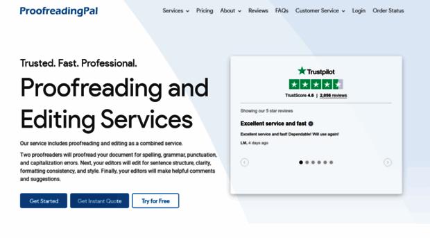 proofreading service uk