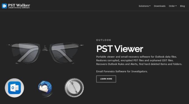 pstwalker com - PST Viewer and Outlook email r    - PST Walker
