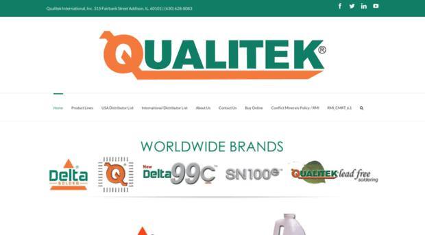 qualitek com - Home - Qualitek - Qualitek