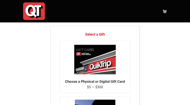 quiktrip cashstar com - QuikTrip Gift Cards from CashS