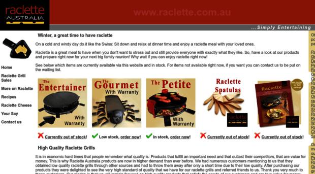 Raclette Grill Australia raclette com au raclette grills from raclette raclette