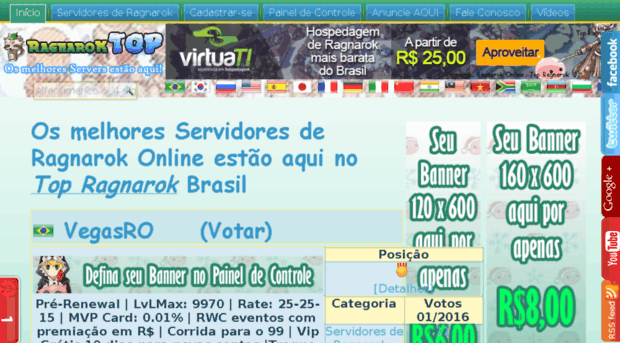 Elliniaro, a mid-high rate private ragnarok online server lead by a group of volunteers