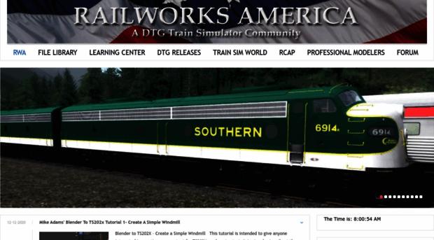 railworksamerica com - Railworks America - Railworks
