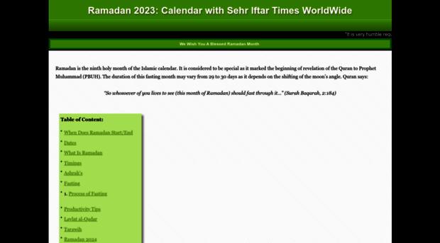 ramadanmonth com - When Is Ramadan 2018   Ramadan