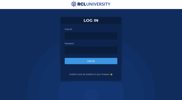 rcluniversity com - RCL University: Log in to the     - RCL