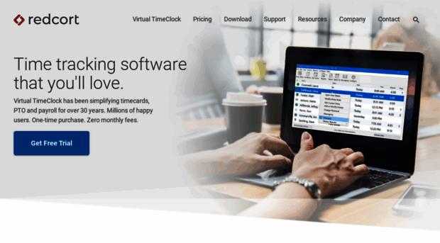 redcort.com - Redcort Software | Time Tracki... - Redcort