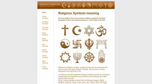 Religious Symbols Religious Symbols Religious Symbols
