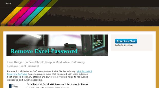 Remove Excel Password Vba - vba password recovery