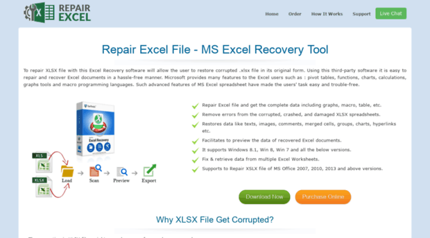 Word 2007 Document Recovery - Repair Corrupt Docx File