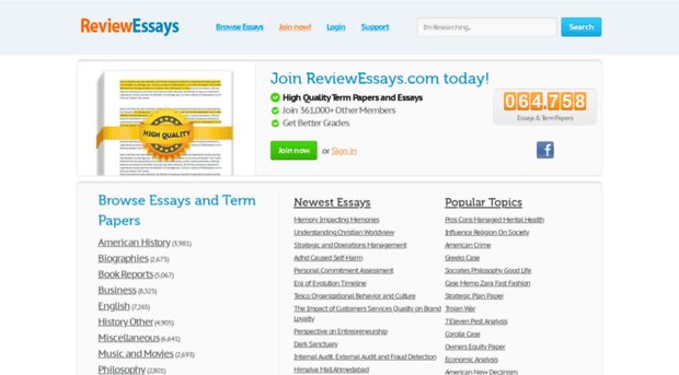 search free essays