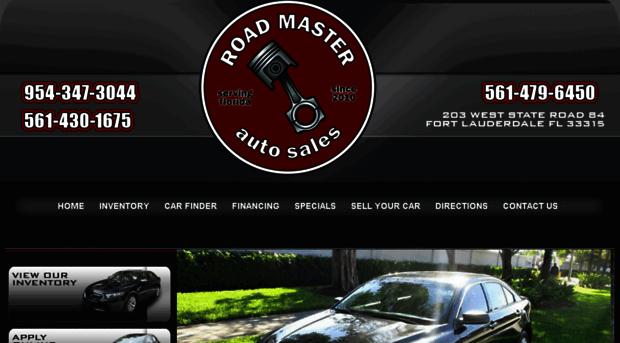 Roadmaster Auto Sales >> Roadmastersf Com Roadmaster Auto Sales Buy Here Pay Here