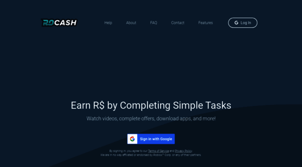 rocash com ROCash com - Earn Free Robux by Watching Videos and