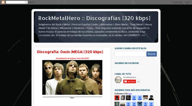 rockmetalhero blogspot mx - RockMetalHero :: Discografias
