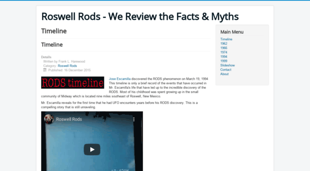 roswell myth or fact essay