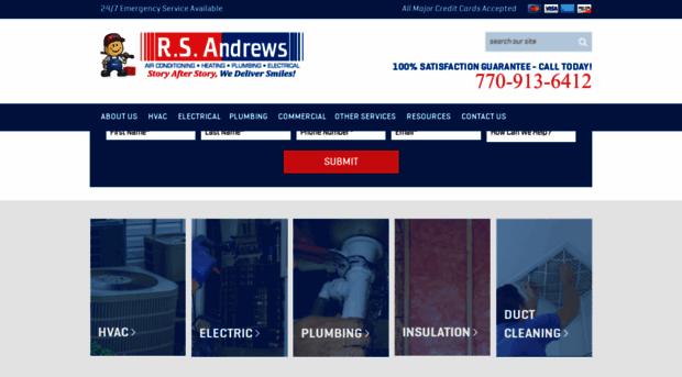 Rsandrews Com Air Conditioning Heating Plu Rsandrews